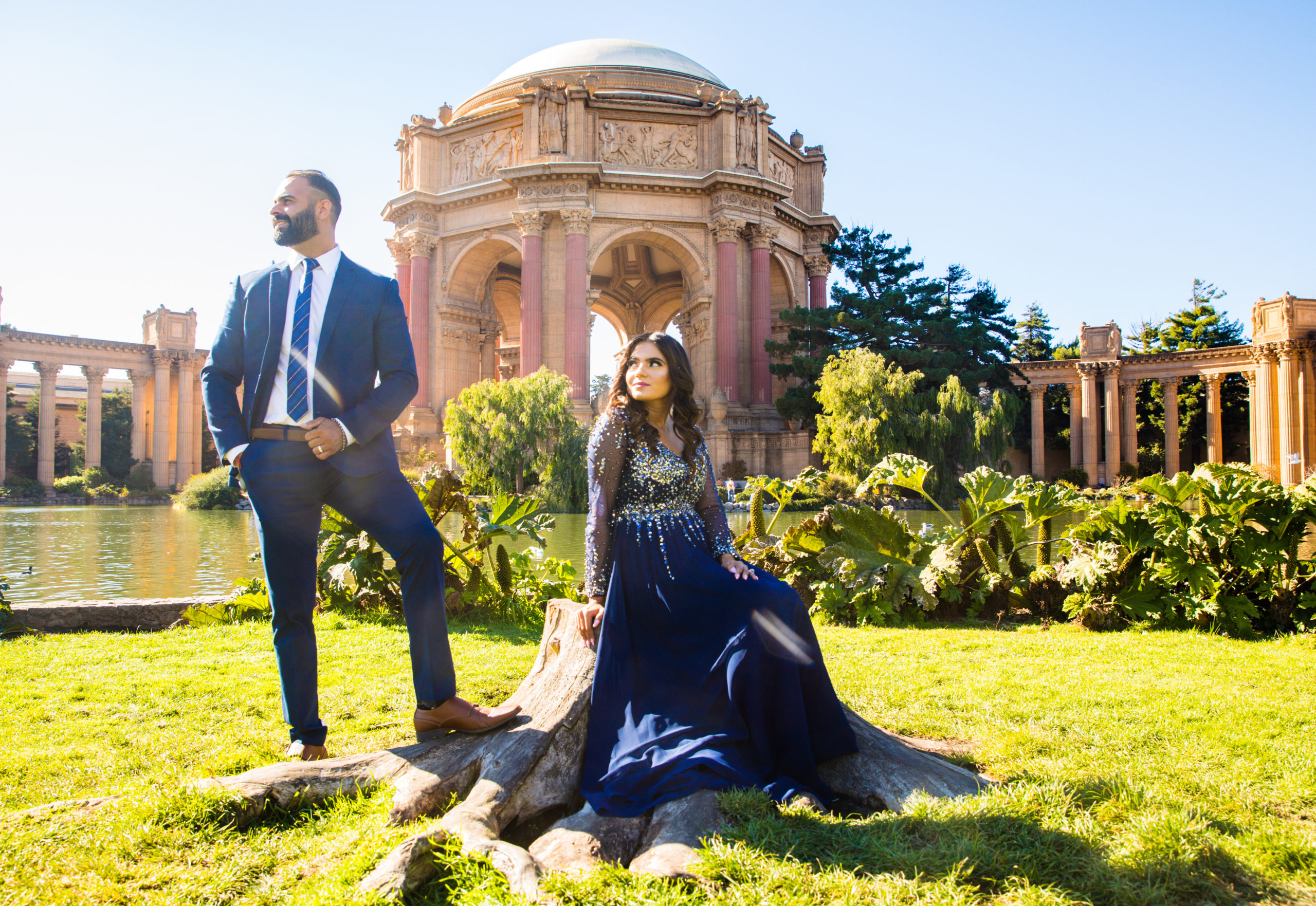 Palace of Fine Arts San Francisco City| Photography and Cinematography | Indian Wedding Photographer | Motion 8 Films | Indian Wedding Photography | Cinematography